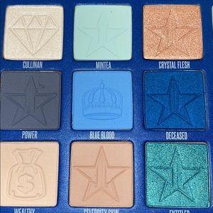 Sephora Makeup - Brand New Jeffree Star Blue blood palette